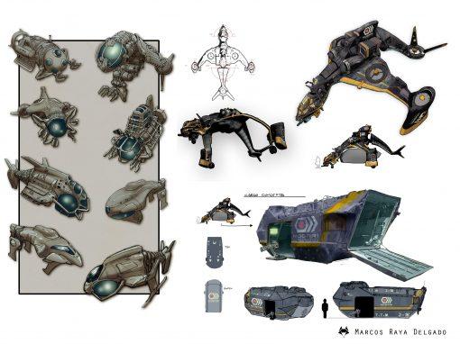Diseño de vehículos para videojuego